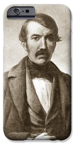 David Livingstone, Scottish Explorer iPhone Case by Sheila Terry