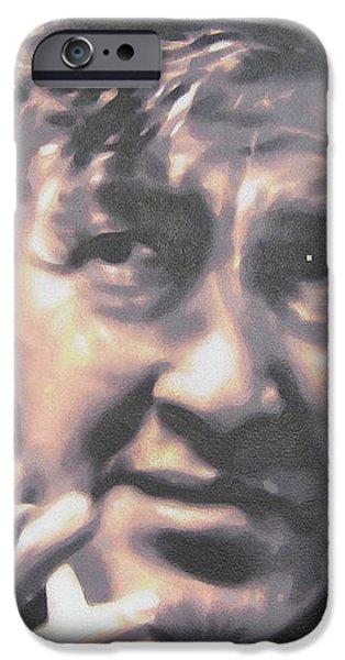 David Lynch iPhone Case by Luis Ludzska