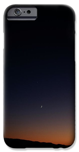 Death Valley - Last Light on the Desert iPhone Case by Christine Till