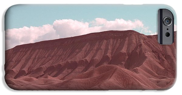 Outdoors iPhone Cases - Death Valley iPhone Case by Naxart Studio