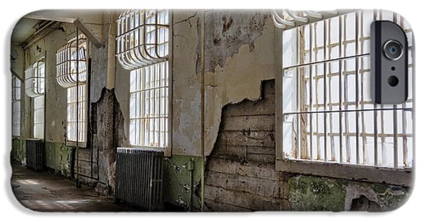 Alcatraz iPhone Cases - Decay iPhone Case by Kelley King