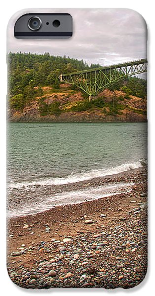 Deception Pass Washington iPhone Case by Artist and Photographer Laura Wrede