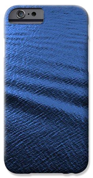 Deep Blue Sea iPhone Case by Carol Groenen