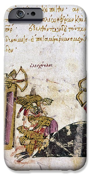 DEFENSE OF CONSTANTINOPLE iPhone Case by Granger