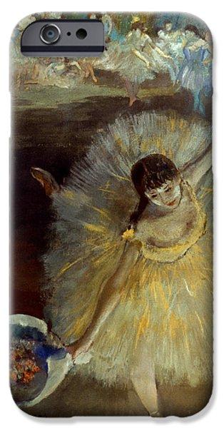 Tutu iPhone Cases - Degas: Arabesque, 1876-77 iPhone Case by Granger