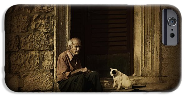 Candid Photographs iPhone Cases - Dementia iPhone Case by Andrew Paranavitana