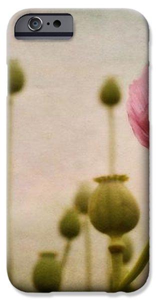 depth of poppy field iPhone Case by Priska Wettstein