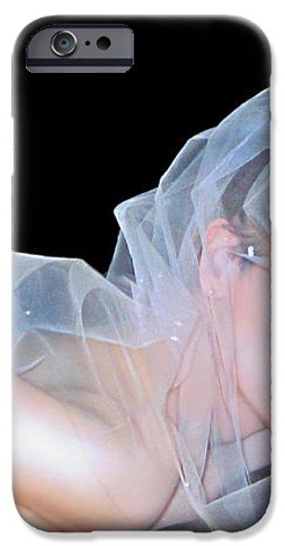 Desdemona - Do you see - Self Portrait iPhone Case by Jaeda DeWalt