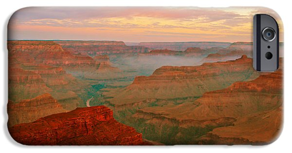 Grand Canyon iPhone Cases - Desert Colors iPhone Case by Heidi Smith