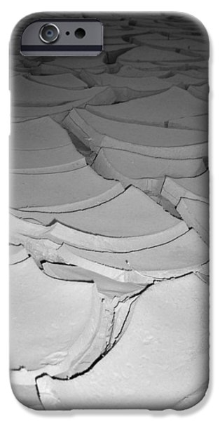 Desert Lake iPhone Case by Naxart Studio