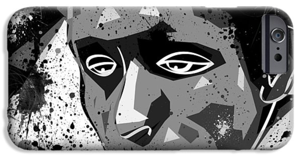 Disorder Digital iPhone Cases - Despair iPhone Case by Stephen Younts