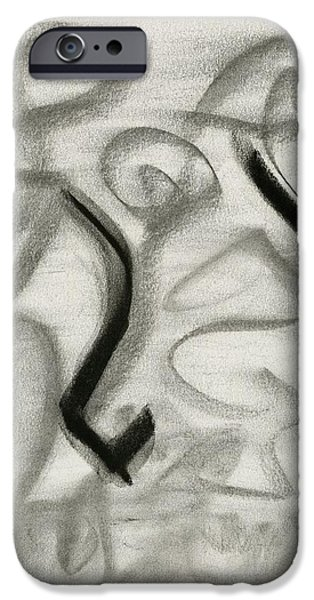 Destiny Paintings iPhone Cases - Destiny Unaided iPhone Case by Taylor Pam