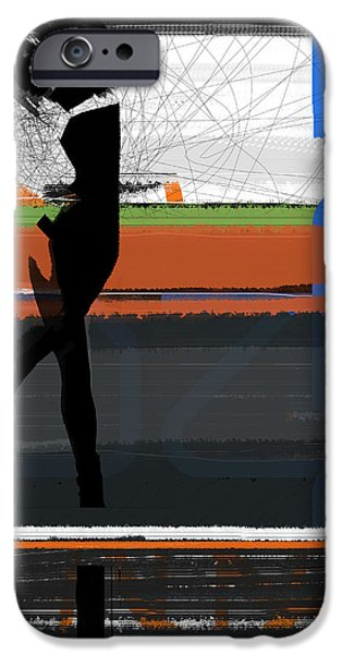 Intense iPhone Cases - Devotion iPhone Case by Naxart Studio