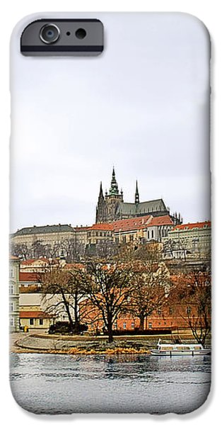Die Moldau - Prague iPhone Case by Christine Till