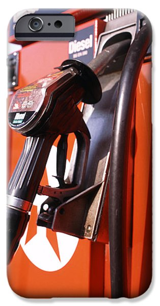 Energy Industry iPhone Cases - Diesel Fuel Pump iPhone Case by Victor De Schwanberg