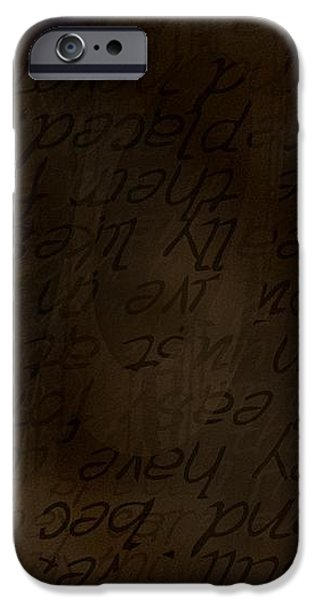 different dialects iPhone Case by Vicki Ferrari