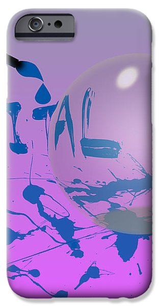 Digital Art iPhone Case by Anthony Caruso