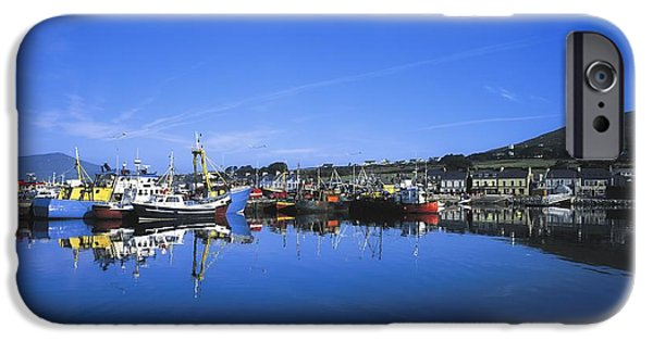 Industry iPhone Cases - Dingle Harbour, Dingle, Co Kerry iPhone Case by The Irish Image Collection