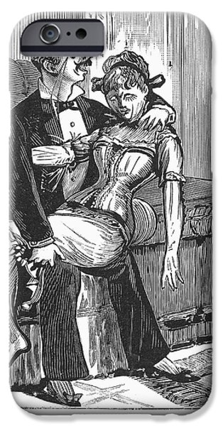 DISCARDED LOVER, 1890s iPhone Case by Granger