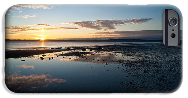 Discovery iPhone Cases - Discovery Park Reflections iPhone Case by Mike Reid