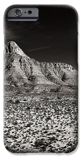 Distant Peak iPhone Case by John Rizzuto