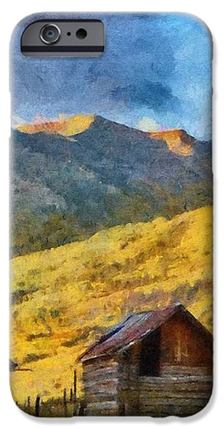 Distant Storm iPhone Case by Jeff Kolker