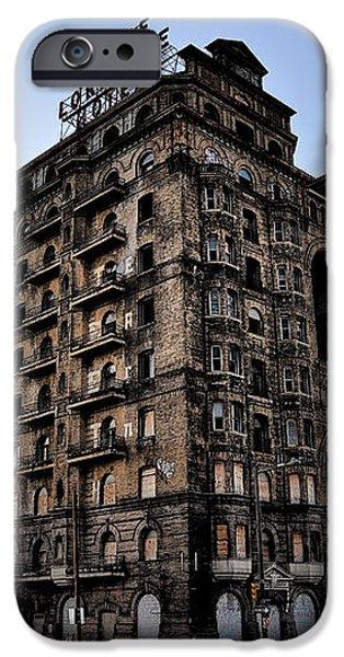 Divine Lorraine Hotel iPhone Case by Bill Cannon