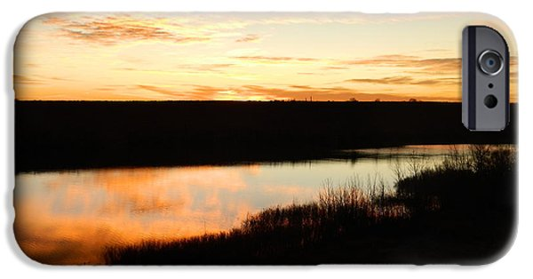 Fort Collins iPhone Cases - Dixon Reservoir Sunrise iPhone Case by Sara  Mayer