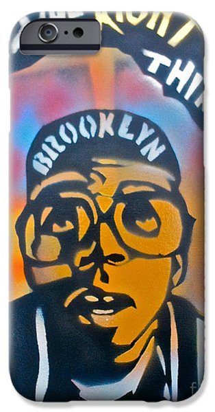 Discrimination Paintings iPhone Cases - Do The Right Thing iPhone Case by Tony B Conscious