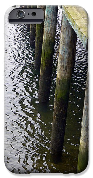 Dock of the Bay  iPhone Case by Pamela Patch