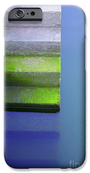 Nature Abstract iPhone Cases - Dock Stairs iPhone Case by Carlos Caetano