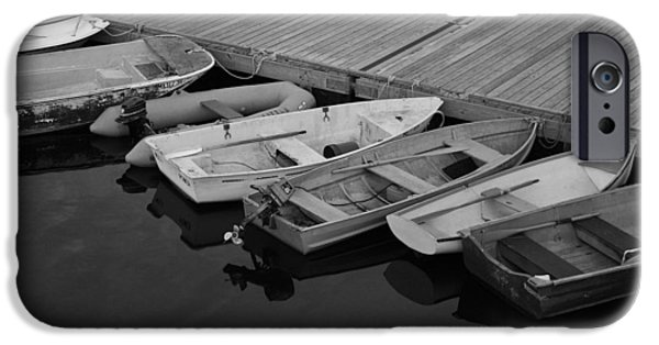 Skiff iPhone Cases - Docked iPhone Case by David Rucker