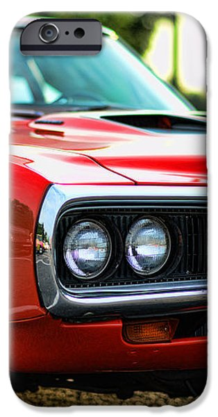 Dodge Super Bee classic red iPhone Case by Paul Ward