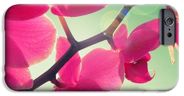 Fuchsia iPhone Cases - Dolce iPhone Case by Amy Tyler