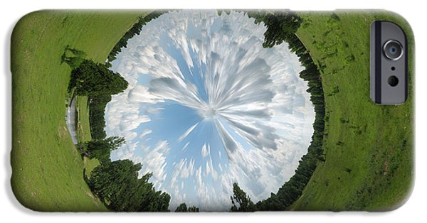 Strange iPhone Cases - Dome of the Sky iPhone Case by Nikki Marie Smith