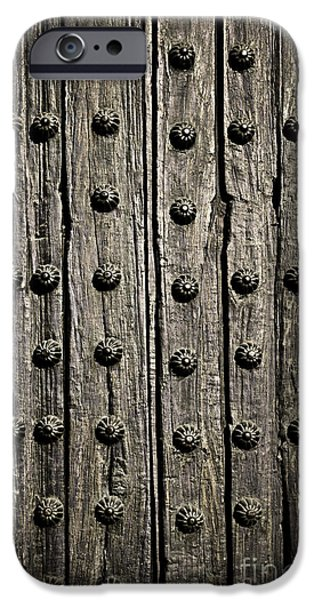 Door detail iPhone Case by Elena Elisseeva