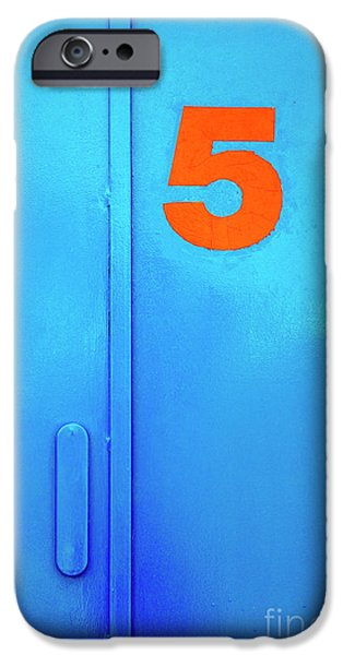 Stainless Steel iPhone Cases - Door Five iPhone Case by Carlos Caetano