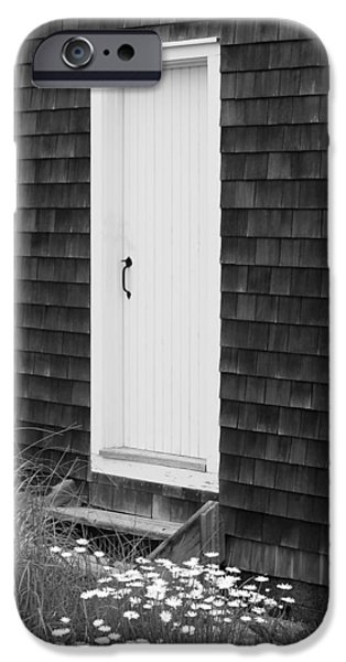 Doorway by the Sea Cape Cod National Seashore iPhone Case by Michelle Wiarda