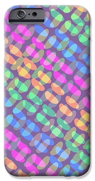 Louisa iPhone Cases - Dotted Check iPhone Case by Louisa Knight