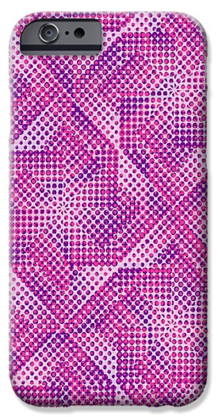 Hereford iPhone Cases - Dotty iPhone Case by Louisa Knight