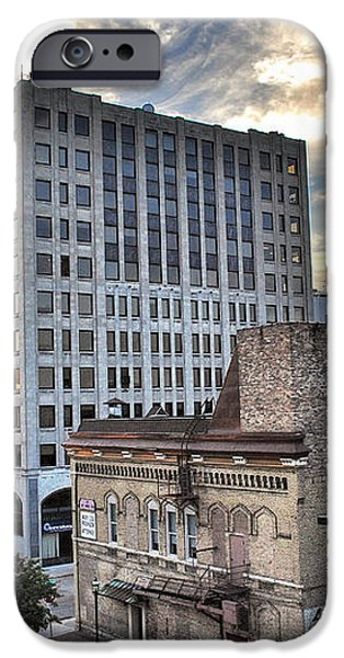 Downtown Appleton Skyline iPhone Case by Shutter Happens Photography
