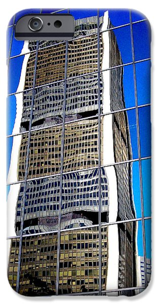 Downtown Montreal iPhone Case by Juergen Weiss
