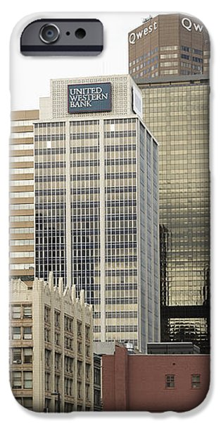 Downtown Office Buildings iPhone Case by Roberto Westbrook