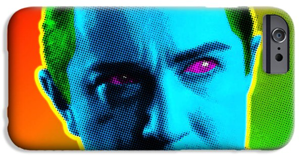 Warhol Art iPhone Cases - Dracula iPhone Case by Gary Grayson