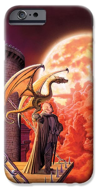 Dragon iPhone Cases - Dragon Lord iPhone Case by The Dragon Chronicles - Robin Ko
