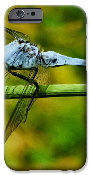 Dragonfly iPhone Case by Jack Zulli