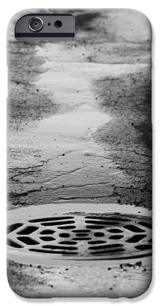 Snow Melt iPhone Cases - Drained iPhone Case by Lauri Novak
