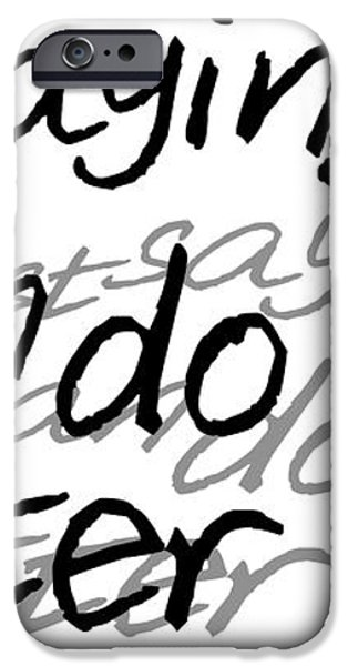 Drake - Do Better by GBS iPhone Case by Anibal Diaz