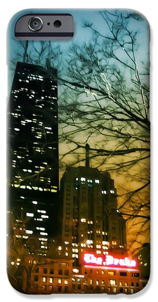Sears Tower iPhone Cases - Drake Palmolive Hancock iPhone Case by Scott Norris