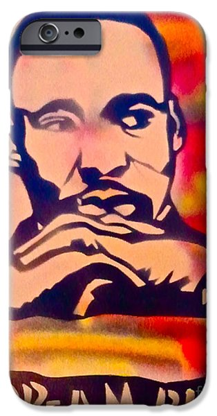 Conservative Paintings iPhone Cases - Dream Big iPhone Case by Tony B Conscious